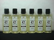 6 Personal Care Vitamin E Skin Oil 1500 I.U. Soften & Moisturize Skin 4 oz each