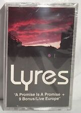LYRES A Promise is a Promise + 9 Bonus/Live Europe NEW Sealed Cassette Tape