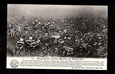 C1920s Battle of Waterloo Panorama Series - Cavalry attacking British Squares