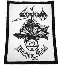 SODOM - Witching Metal Patch Aufnäher 8x10cm RARITÄT!