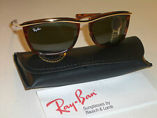 VINTAGE B&L RAY BAN L1005 TORT/GOLD COMBO G15 SLEEK OLYMPIAN II SUNGLASSES NEW!