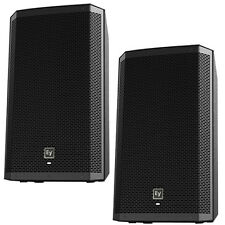 EV Electro-Voice ZLX12P Active 2-way PA Speakers ZLX 12P PAIR GENTLY USED