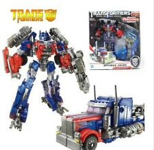 Transformers 3 Voyager Optimus Prime Toy Action Figure Doll New In Box