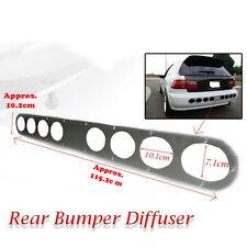 Long Rear Bumper silver Diffuser Honda Civic EG / EK / EJ 1992-2000