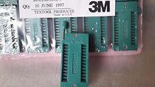 "3M™ Textool™.100"" (2.54 mm) DIP Sockets 3M 224-3344  24 WAY ZIF test Socket 1pcs"