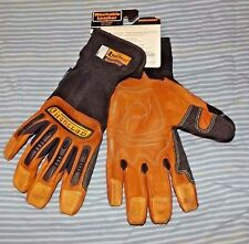 "New Men's "" IronClad""   RanchWorx Leather Gloves Medium"