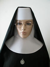 NUNS VEIL SET,BENEDICTINE; nuns veil,nun veils,nuns habit,nun's habits.nuns wear