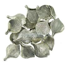 20Pcs Lily Calla Flower Frame Cap Charms Finding DIY Pendants Earring Making