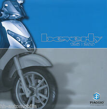PIAGGIO BEVERLY 125 200 ROLLER PROSPEKT 2003 brochure opuscolo SCOOTER