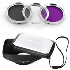 43mm 16:9 Wide Lens Hood,Filter Kit for Canon Vixia HF R72 R700 R70 R600 R62 R60