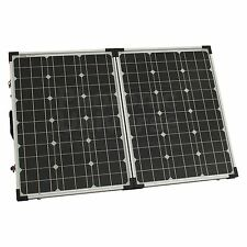 100W (50W+50W) 12V/24V folding solar panel without a solar charge controller