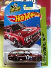 2014 HOTWHEELS '71 DATSUN BLUEBIRD 510 WAGON SUPER TREASURE HUNT- NEW