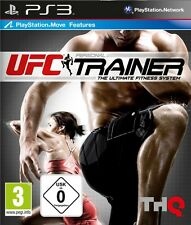 PS3 Move UFC Personal Trainer The Ultimate Fitness System incl. Leg strap NIP