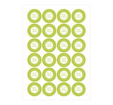 Geschenk-Aufkleber 'Nicht schummeln' Farbwahl - Sticker für Weihnachtsgeschenke