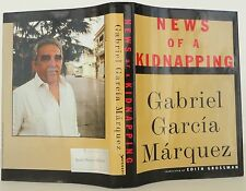 GABRIEL GARCIA MARQUEZ News of a Kidnapping INSCRIBED FIRST EDITION
