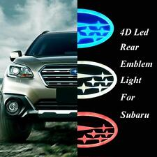 4D Badge Emblem Logo with LED Light fit for Subaru Forester Outback Legacy XV