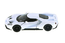 "Kinsmart 2017 Ford GT 1:38 scale 5"" diecast model car White K144"