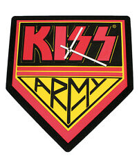 Official KISS 3D LOGO WALL CLOCK, KISS ARMY CLOCK
