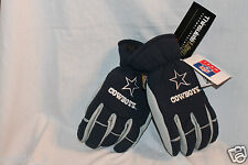 NEW WITH TAGS DALLAS COWBOYS SKI GLOVES THERMAL INSULATED 3M Large