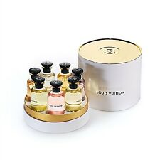 BNIB Authentic Louis Vuitton 7x 10ML MINIATURE SET Perfume Spray~HARD 2 FIND~