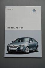 Car Brochure, VW Volkswagen Passat 2006, Petrol Diesel 2.0 V6 4Motion TDi Sport