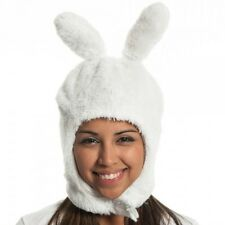 Adventure Time Fionna White Fur Costume Hat