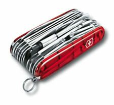 Swiss Army Knife, Swisschamp XLT W/Pouch, Ruby Red, Knive # 53504, New In Box