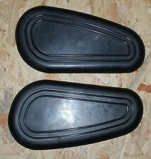 BMW R26 R27 new standard small gas tank knee pad set !!!!!!!!!!!!!!!!!!