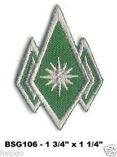 BSG MASTER CHIEF ENLISTED RANK PATCH INSIGNIA - BSG106