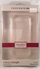 NEW!!! Case-Mate Naked Tough Case for Apple iPhone 5C - Clear