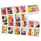USPS New Botanical Art doublesided booklet of 20