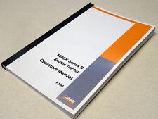 Case 580B (580CK B) Shuttle Tractor Operators Manual Owners Maintenance Book NEW
