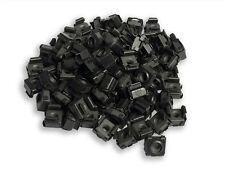 RackGold 10-32 Black Cage Nuts 100 Pack RoHS Compliant & USA Made G1032-SNP-B10