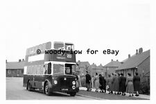 pt9864 - Doncaster Bus LFS 478 at Chantley in 1954 , Yorkshire - photograph