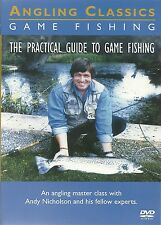 THE PRACTICAL GUIDE TO GAME FISHING DVD ANGLING CLASSICS - ANDY NICHOLSON