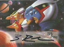 "Battle of the Planets - A-11 ""Brian Rood"" Autograph Card #789/1000"
