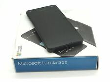MICROSOFT LUMIA 550 - NEW CONDITION - 8GB - 5MP - 4G - BLACK - UNLOCKED