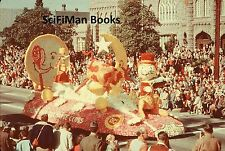 ANSCO COLOR 35mm Slide Parade Tournament Of Roses Hey Diddle Diddle Float 1950s?