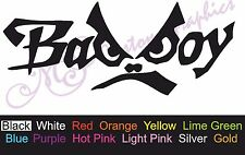 2 X ** BAD BOY ** Car Decal, Vinyl, Drift Sticker, JDM, EURO, DUB