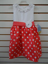 Infant & Toddler Girls American Princess Assorted Floral Dresses Size 3mo - 4T