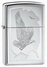 Zippo Windproof Eagle Lighter, Birds Of Prey, 21069, New In Box