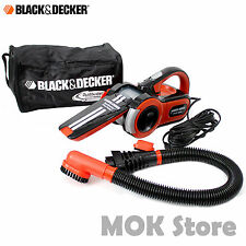 BLACK & DECKER PAV1205 Car Vacuum Cleaner Dustbuster Pivot Auto 12V Pivot Auto