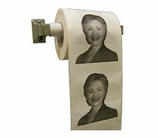 Hillary Clinton Toilet Paper Funny Gag Joke Gift 2 Ply Roll New Free Shipping