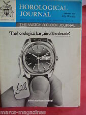 WATCH & CLOCK HOROLOGICAL JOURNAL 1976 PRESIDENT MOONRAKER LED TIME COMPUTER