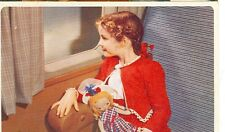 AMERICAN AIRLINES-LITTLE GIRL IN SEAT ON PLANE WITH DOLL-ADV-IVAN DMITRI(MP-885)