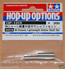 Tamiya 54319 M-Chassis Lightweight Hollow Shaft Set (M03/M04/M05/M05Ra/M06), NIP