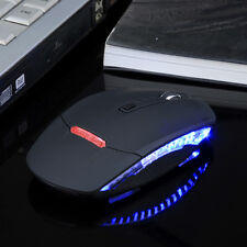 Adjustable 1600DPI Wireless 2.4G Optical Mouse Slim Mice+Receiver For PC Laptop