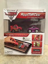 Disney Pixar Cars 2 AppMATes for iPad Lightning McQueen And Holly Shiftwell New