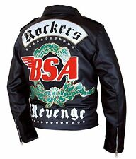 BSA George Michael Faith Rockers Revenge Leather Jacket