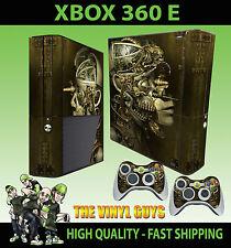 XBOX 360 E ROBOT Steampunk Vittoriano INGRANAGGI COGS ADESIVO SKIN e 2 pad Pelle